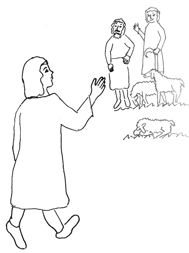 joseph brothers coloring page link to bible story - Bible Story Coloring Pages Joseph