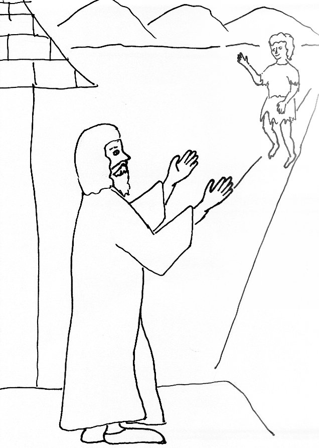 301 moved permanently for Prodigal son coloring page for preschoolers