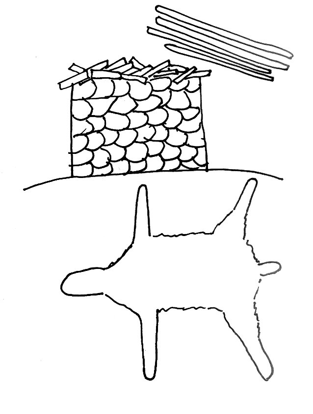 Gideon Fleece Coloring Page