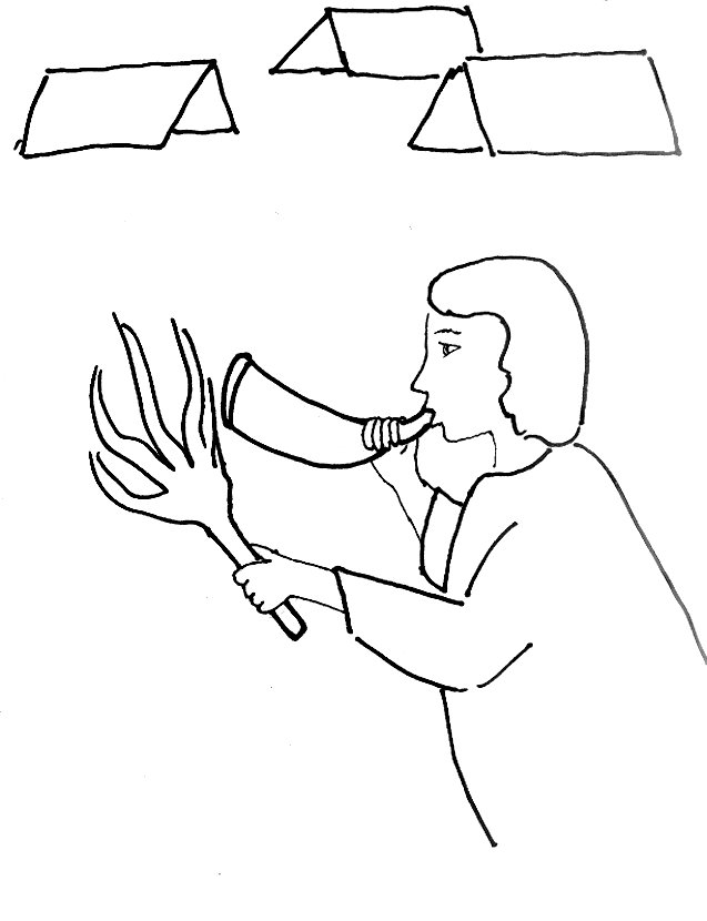 judge jephthah coloring pages
