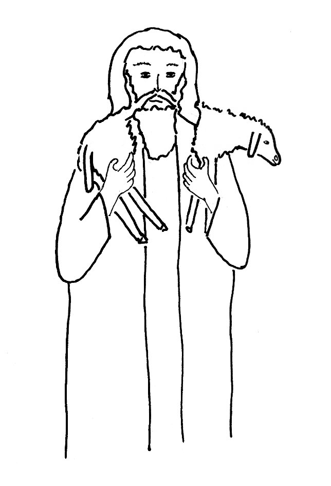 Bible Story Coloring Page for The Lost Sheep Free Bible Stories