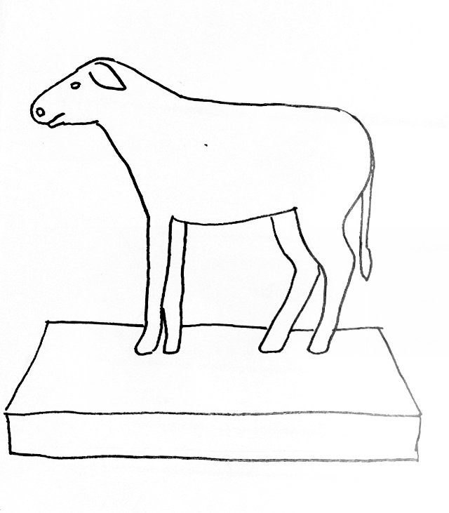 golden calf coloring pages - photo#12