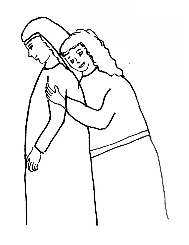 bible story coloring page for ruth (the book of)  free
