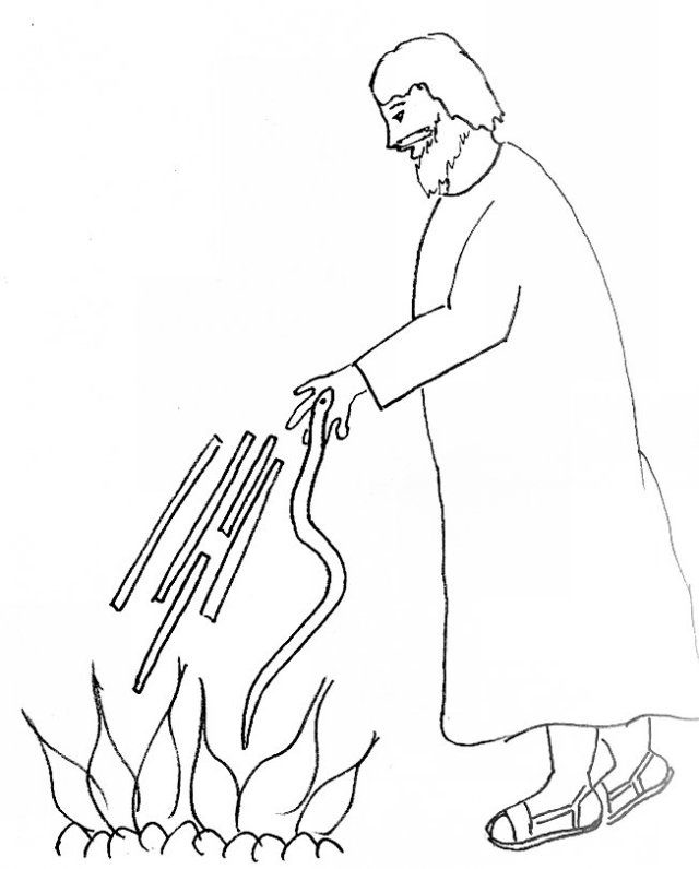 childrens coloring pages peter paul - photo#23