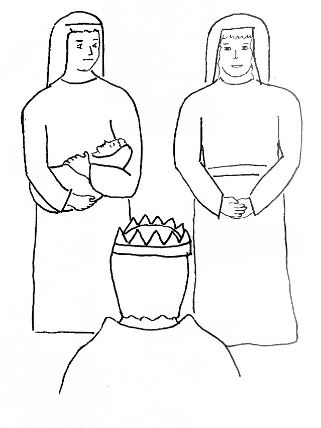 solomon wisdom coloring page